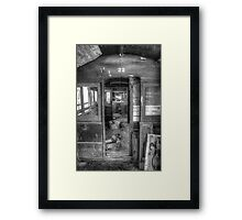 Tram, internal Framed Print