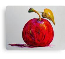 Kaleidoscope Apple or APPLE FOR THE TEACHER Canvas Print