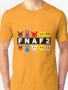 Five Nights At Freddy's 2 Pixel Shirt Unisex T-Shirt