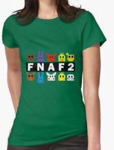 Five Nights At Freddy's 2 Pixel Shirt Womens Fitted T-Shirt