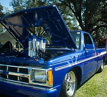 Blue Chevy by Tim Bell