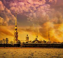 Peter and Paul Fortress by LudaNayvelt