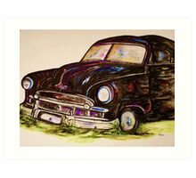 Car of Character Art Print