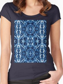 Ethnic Style Women's Fitted Scoop T-Shirt