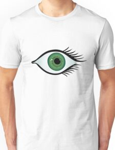 green eye Unisex T-Shirt