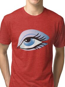 blue eye Tri-blend T-Shirt