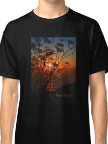 Sunset flower Classic T-Shirt