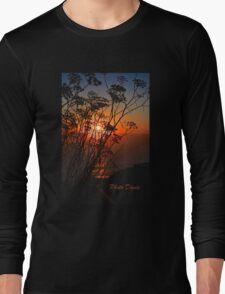 Sunset flower Long Sleeve T-Shirt