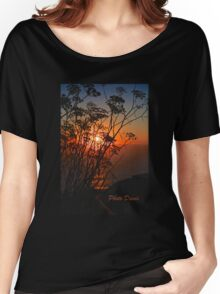 Sunset flower Women's Relaxed Fit T-Shirt