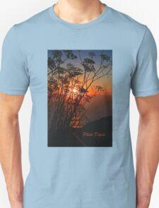 Sunset flower Unisex T-Shirt