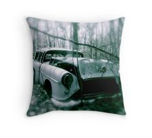 Ghost of the Past Throw Pillow