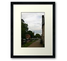 Towards Newbury Framed Print