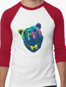 Pop Art I (Papa Bear) Men's Baseball ¾ T-Shirt