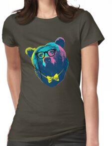 Pop Art I (Papa Bear) Womens Fitted T-Shirt