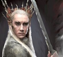 Thranduil  by IndoLovePaints