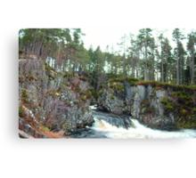 Pattack Falls Canvas Print