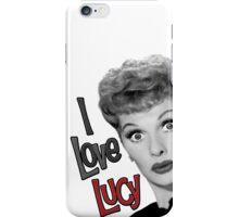 I Love Lucy iPhone Case/Skin