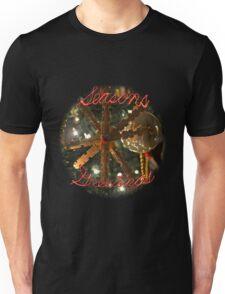 Season's Greetings Snowflake Unisex T-Shirt