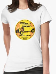 Milner's Speed Shop Womens Fitted T-Shirt