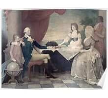George Washington and His Family Poster