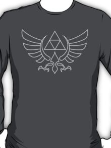 Triforce White T-Shirt