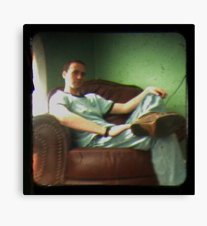 TTV self portrait Canvas Print