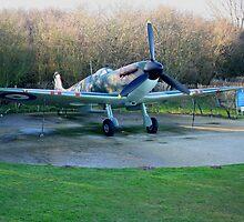 spitfire supermarine Mk 1 by Rexcharles