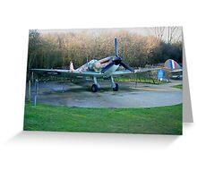 spitfire supermarine Mk 1 Greeting Card