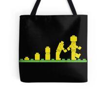 Build Block Walk of Evolution Tote Bag