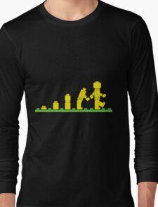 Build Block Walk of Evolution Long Sleeve T-Shirt
