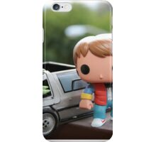 Marty Mcfly Delorean iPhone Case/Skin