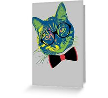 Pop Art III (Cool Cat) Greeting Card