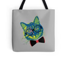 Pop Art III (Cool Cat) Tote Bag