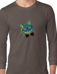 Pop Art III (Cool Cat) Long Sleeve T-Shirt