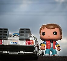 Outatime with Marty McFly by garykaz