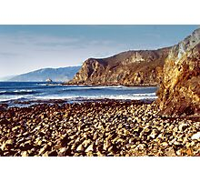 The Beach at Cambria Photographic Print
