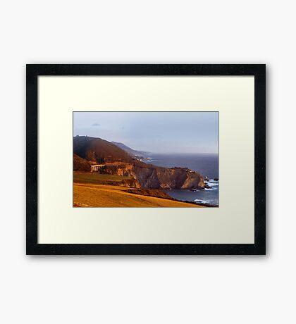 Bixby Bridge Framed Print