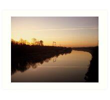 River Ribble Art Print