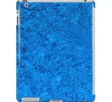 Blue Water - Color Movement and Reflection iPad Case/Skin