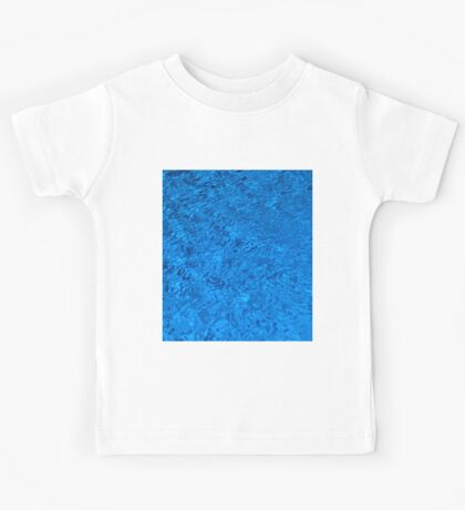 Blue Water - Color Movement and Reflection Kids Tee