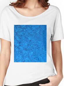 Blue Water - Color Movement and Reflection Women's Relaxed Fit T-Shirt