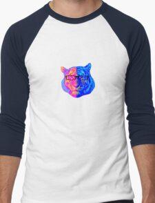 Pop Art IIII (Tiger) Men's Baseball ¾ T-Shirt