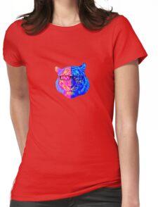 Pop Art IIII (Tiger) Womens Fitted T-Shirt