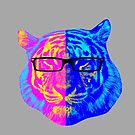 Pop Art IIII (Tiger) by LifeSince1987