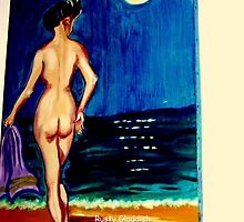 Moonlight Bather by Rusty  Gladdish