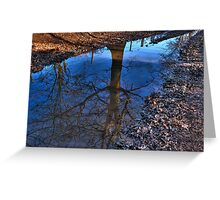 Tree Puddle Greeting Card