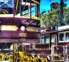 Tram awaiting relife #3 Sticker