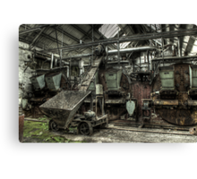 Coal Conveyor Canvas Print