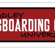 Bradley Longboarding Sticker