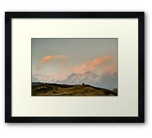 Stupa in the Himalayas Framed Print